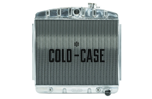 Cold Case Radiators CHT562A 55-57 Tri-5 Chevy Radiat or (V8 Mount)