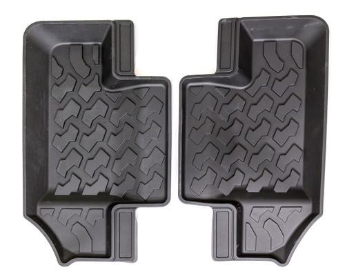 Bestop 51503-01 Black-Floor Liner Rear 11-16 Wrangler JK 2 Door