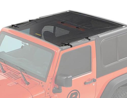 Bestop 52412-11 Safari Style Bikini Top 18-20 Jeep Wrangler JL