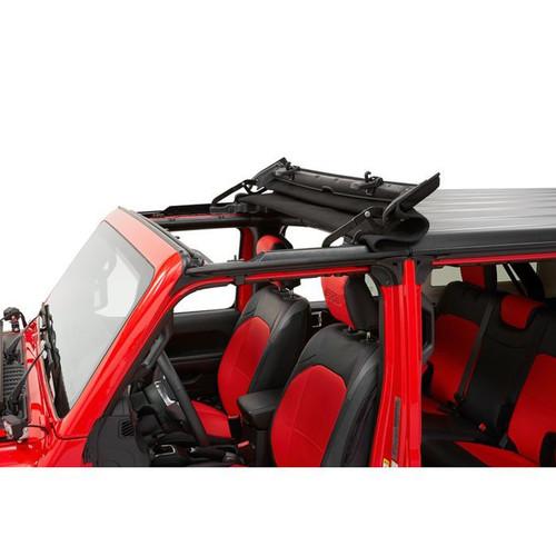 Bestop 52452-17 Sunrider For Hardtop 18- Jeep JL Black Twill
