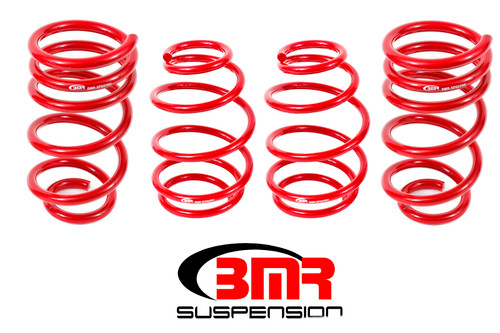 Bmr Suspension SP025R 10-15 Camaro Lowering Spring Kit 1in Drop