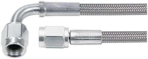 Allstar Performance 46304-48 48in #3 Line -3 Str/-3 90 Deg Tube Style