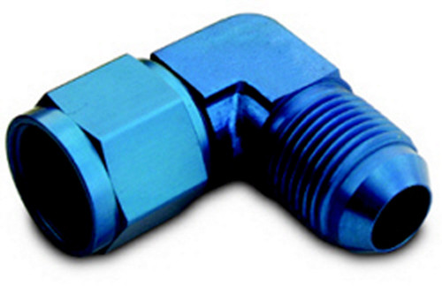 A-1 Products CPL908 #8 Male to #8 Female 90 Deg Swivel