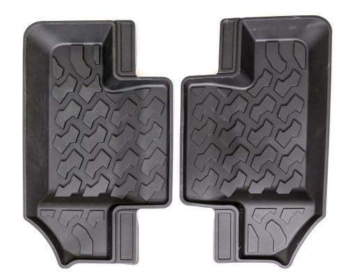 Bestop 51516-01 Floor Mats 18-   Jeep Wrangler JL 2-Door Rear