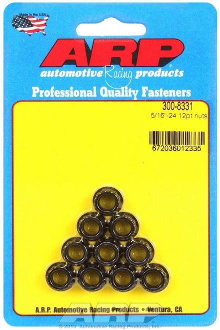 Arp 300-8331 5/16-24 12pt. Nuts (10)
