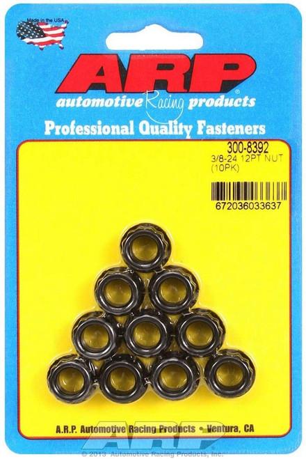 Arp 300-8392 3/8-24 12pt. Nuts (10)