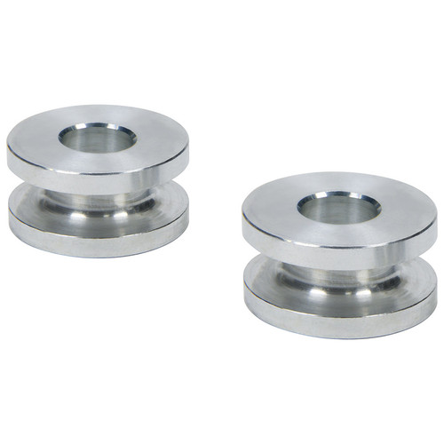 Allstar Performance 18822 Hourglass Spacers 3/8in ID x 1in OD x 1/2in Long