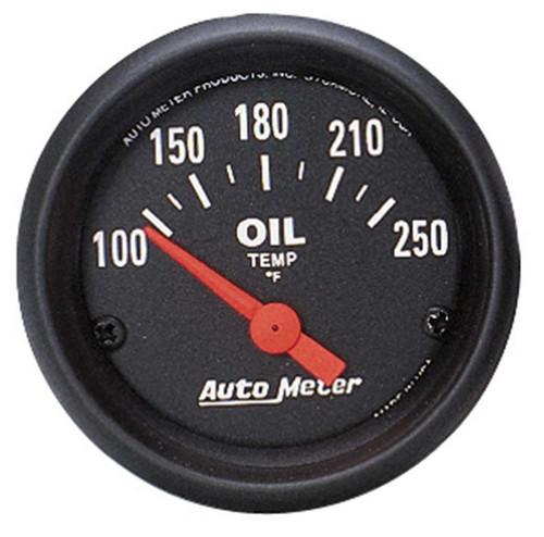 Autometer 2638 2-1/16in Z-Series Oil Temp Gauge 100-250
