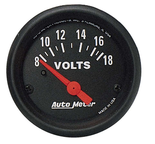 Autometer 2645 2in Voltmeter- 8-18volts