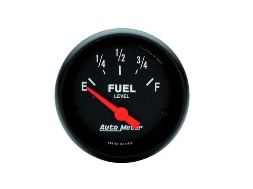 Autometer 2648 2-1/16 Z-Series Fuel Level Gauge 0-30 Ohms