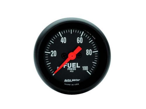 Autometer 2663 Z-Series 2-1/16in Fuel Pressure Gauge 0-100psi