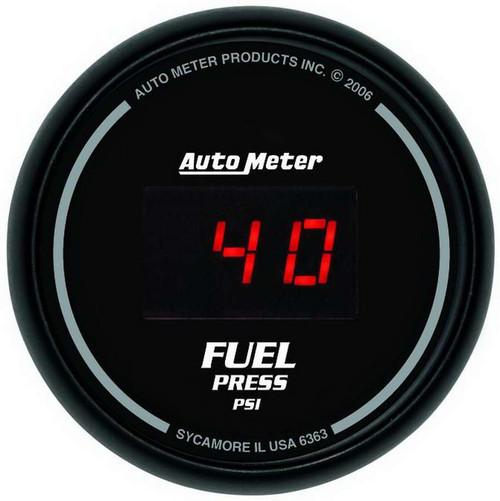 Autometer 6363 2-1/16in DG/B Fuel Pressure Gauge