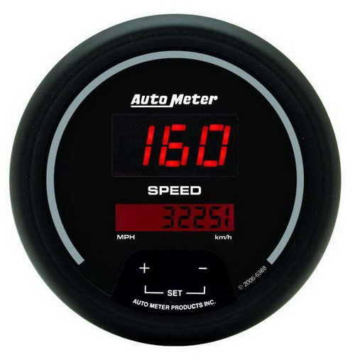 Autometer 6388 3-3/8in DG/B Speedometer