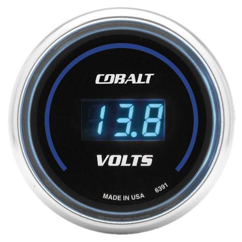 Autometer 6391 2-1/16in C/S Digital Voltmeter Gauge 8-19 Vol
