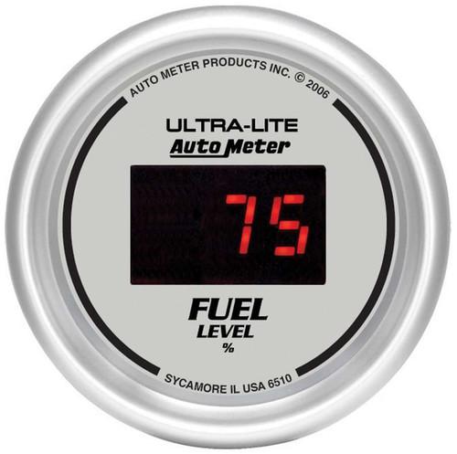 Autometer 6510 2-1/16in DG/S Fuel Level Gauge