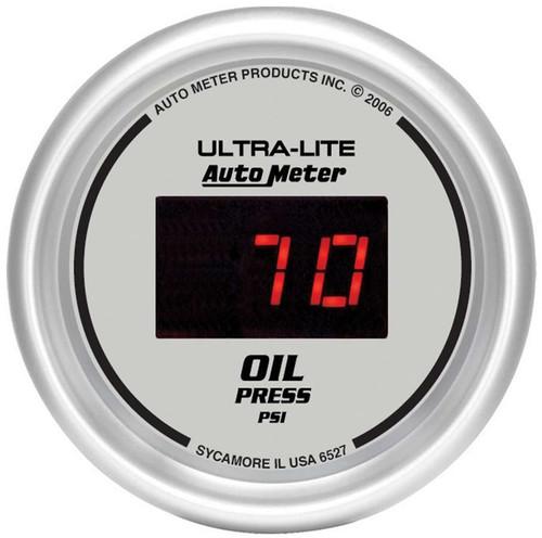 Autometer 6527 2-1/16in DG/S Oil Press. Gauge