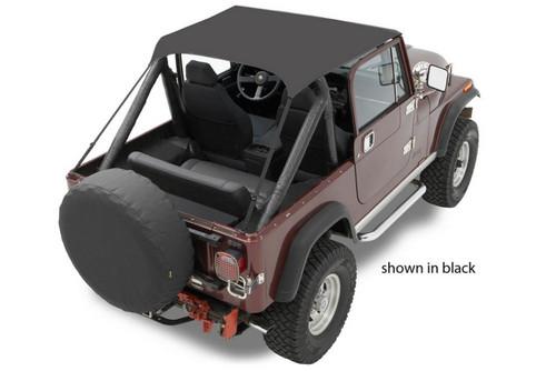 Bestop 52508-04 76-86 Jeep CJ7 Tan Traditional Bikini