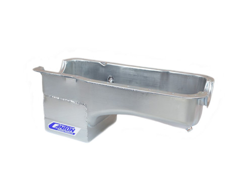 Canton 15-620S SBF S/S Oil Pan - 7qt. Rear Sump