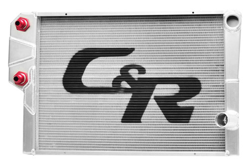 C And R Racing Radiators 905-30191 Radiator 19 x 30 Double Pass w/Exchanger Open