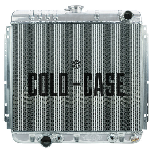 Cold Case Radiators FOM560A 67-70 Mustang 20in Radia tor AT