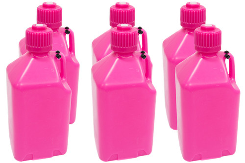 Scribner 2000GP-CASE Utility Jug - 5-Gallon Glow Pink - Case 6