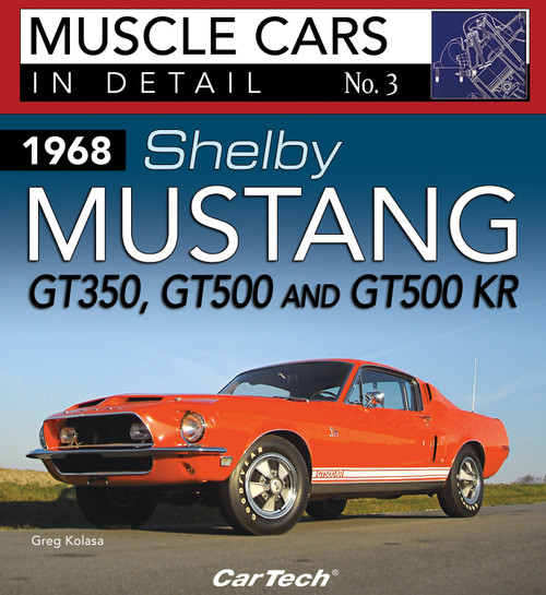 S-A Books CT572 Cars In Detail 1968 Shelby Mustang