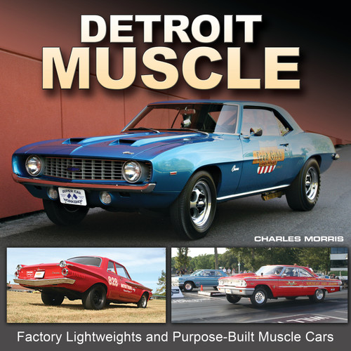 S-A Books CT579 Detroit Muscle Litweight /Purpose Built Muscle
