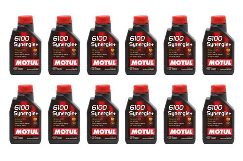Motul Usa 108646-12 6100 Synergie 10w40 Oil Case/12-Liter