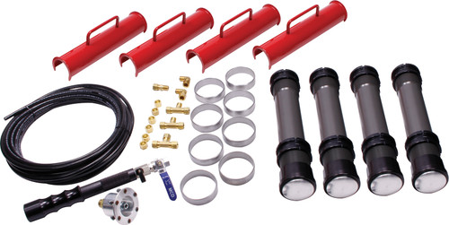 Allstar Performance 11302 Air Jacks Complete Kit 11.75in