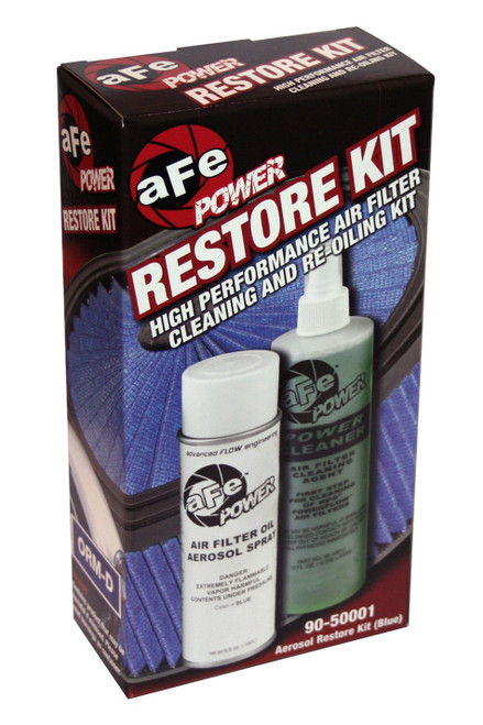 Afe Power 90-50001 Air Filter Cleaning Kit Blue Oil Aerosol