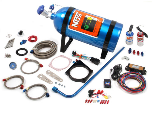 Nitrous Oxide Systems 05164 90MM LS NOS Plate Kit w/Drive By Wire T-Body