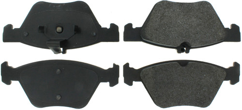 Centric Brake Parts 104.08531 Posi-Quiet Semi-Metallic Brake Pads with Hardwar