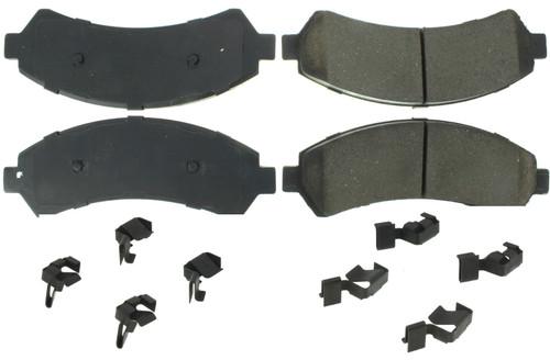 Centric Brake Parts 300.07260 Premium Semi-Metallic Br ake Pads with Shims and