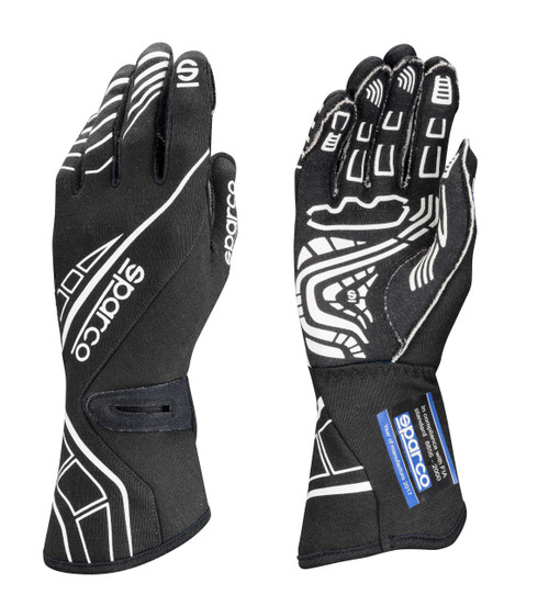 Sparco 00131108NR Glove Lap RG-5 X-Small Black