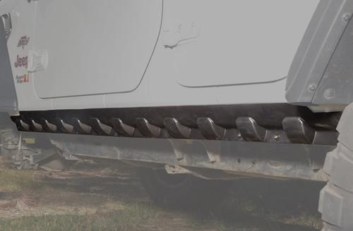 Rugged Ridge 11651.61 Rocker Guard Body Armor 18-   Jeep Wrangler JL