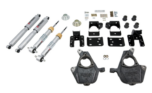 Bell Tech 1001SP Lowering Kit 15-  Ford F150 All Cabs Short Bed