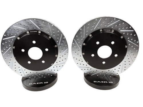 Baer Brakes 2302068 EradiSpeed+ Rear Rotors