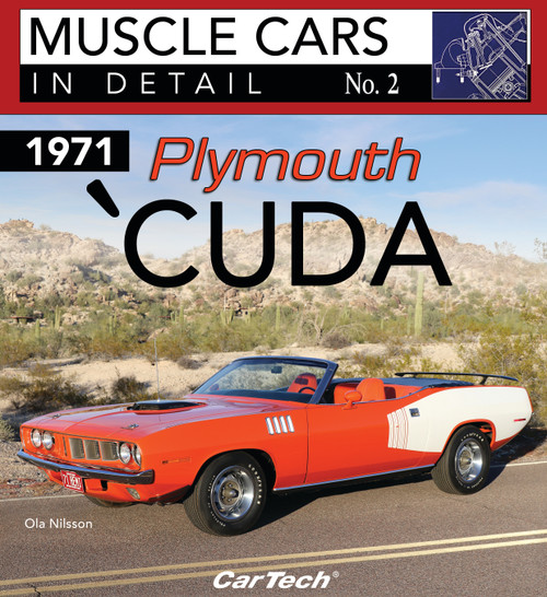 S-A Books CT576 Cars In Detail 1971 Plymouth Cuda