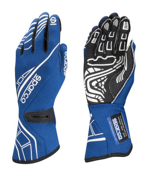 Sparco 00131109AZ Glove Lap RG-5 Small Blue
