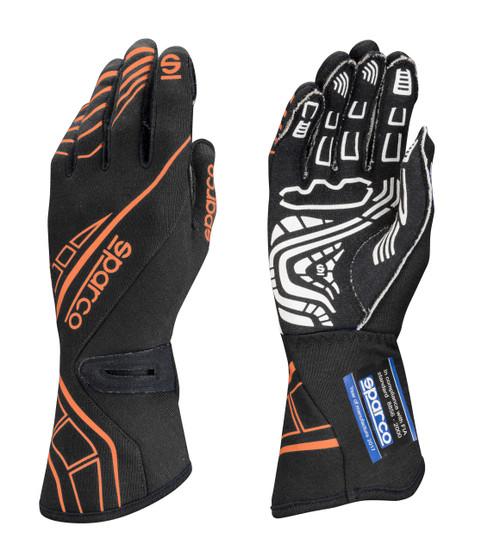 Sparco 00131109NRAF Glove Lap RG-5 Small Black / Orange