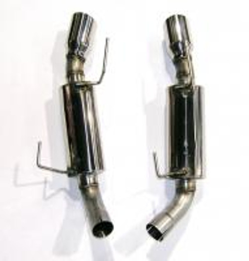 Bassani Xhaust 4607SR5 Ford Mustang 05-09. GT 4.6L Aft-Cat Exhaust System