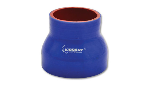 Vibrant Performance 2836B 4 Ply Reducer Coupling 3 .5in x 4.5in x 3in long