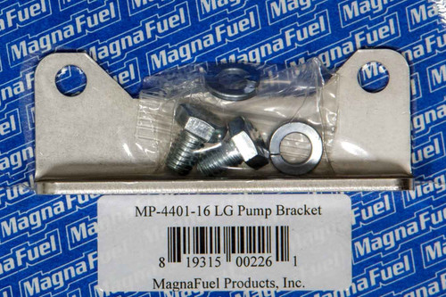 Magnafuel/Magnaflow Fuel Systems MP-4401-16 Std. Mounting Bracket  - Fuel Pump Clear Zinc