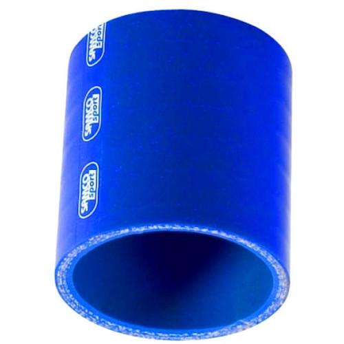 Samco Sport SCH76BLUE 3in STR Hose Coupler Blue
