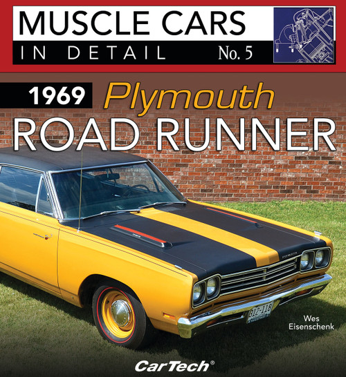 S-A Books CT580 Cars In Detail 1969 Plymouth Road Runner