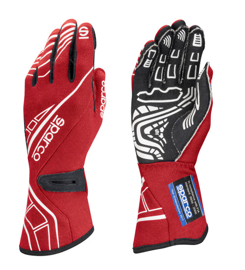 Sparco 00131112RS Glove Lap RG-5 X-Large Red