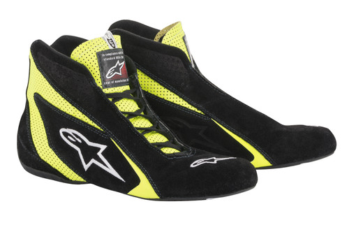 Alpinestars Usa 2710618-155-10.5 SP Shoe Blk /Fluo Yellow Size 10.5