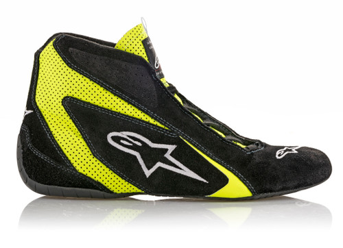 Alpinestars Usa 2710618-155-12 SP Shoe Blk /Fluo Yellow Size 12