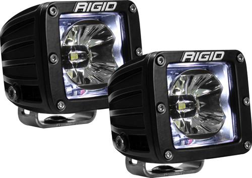 Rigid Industries 20200 LED Light Pair Radiance Pod White Backlight