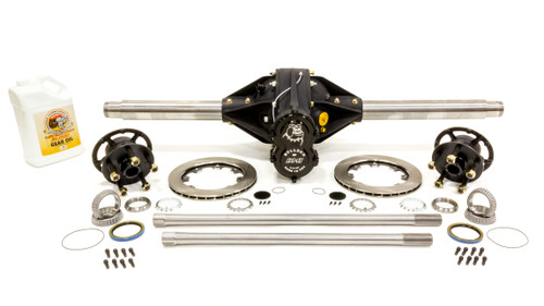 Diversified Machine IMCA4.12PRO-HA-KIT-2 Q/C Rearend Pro 4.12 w/ Tubes Hubs Rotors Hollow